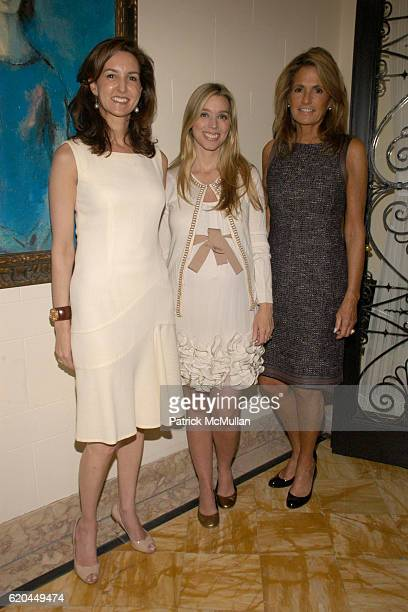 Alexia Hamm Ryan Alexandra Lind Rose and Elizabeth Meigher attend Christie's Hosts Kickoff for The Society of Memorial Sloan Kettering Cancer...