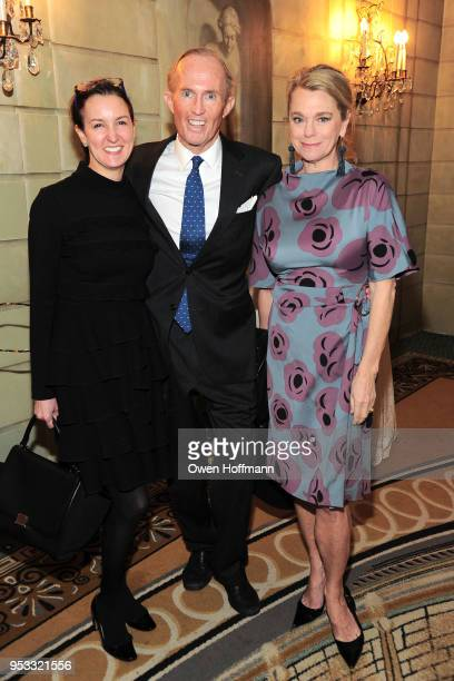 Alexia Hamm Ryan Mark Gilbertson and Debbie Bancroft attends Fountain House Symposium and Luncheon at The Pierre Hotel on April 30 2018 in New York...