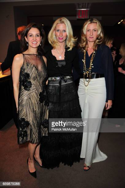 Alexia Hamm Ryan Mary Snow and Kristina Davison attend ASPREY and Associates Committee host benefit for LENOX HILL NEIGHBORHOOD HOUSE at Asprey NYC...