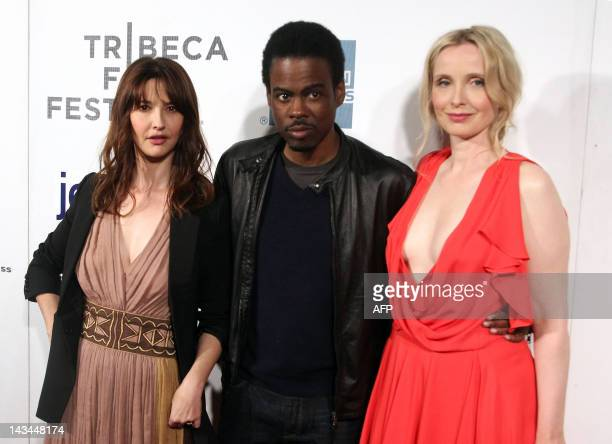 Alexia Landeau Chris Rock and Julie Delpy attend the 2 Days In New York premiere during the 2012 Tribeca Film Festival at BMCC/TPAC in New York on...