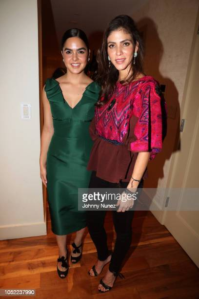 Alexia Maria Esquer and Alida Boer attend the Mercado Global Special Supporter Dinner at a Private Residence on October 15, 2018 in New York City.