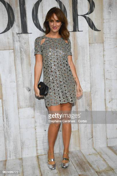 Alexia Niedzelski attends the Christian Dior Couture S/S19 Cruise Collection on May 25 2018 in Chantilly France