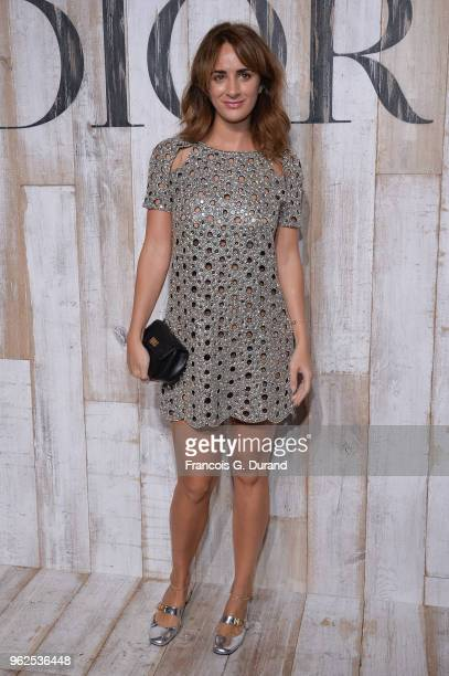 Alexia Niedzielski attends the Christian Dior Couture S/S19 Cruise Collection Photocall At Grandes Ecuries De Chantillyon May 25 2018 in Chantilly...
