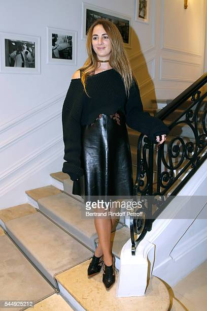 Alexia Niedzielski attends the Christian Dior Haute Couture Fall/Winter 20162017 show as part of Paris Fashion Week on July 4 2016 in Paris France