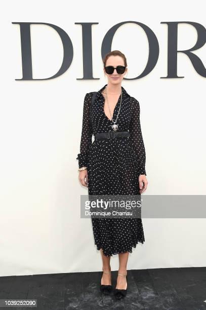 Alexia Niedzielski attends the Christian Dior show as part of the Paris Fashion Week Womenswear Spring/Summer 2019 on September 24 2018 in Paris...