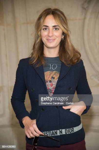 Alexia Niedzielski attends the Christian Dior show as part of the Paris Fashion Week Womenswear Spring/Summer 2018 at on September 26 2017 in Paris...