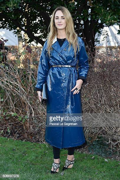 Alexia Niedzielski attends the Christian Dior Spring Summer 2016 show as part of Paris Fashion Week on January 25 2016 in Paris France
