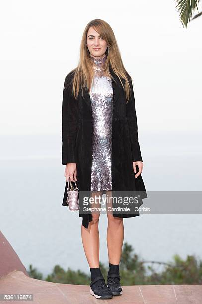 Alexia Niedzielski attends the Dior Croisiere 2016 at Palais Bulle on May 11 2015 in Theoule sur Mer France