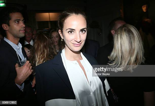 Alexia Niedzielski attends the Dior Cruise Collection 2017 dinner and afterparty at Loulou's on May 31 2016 in London England