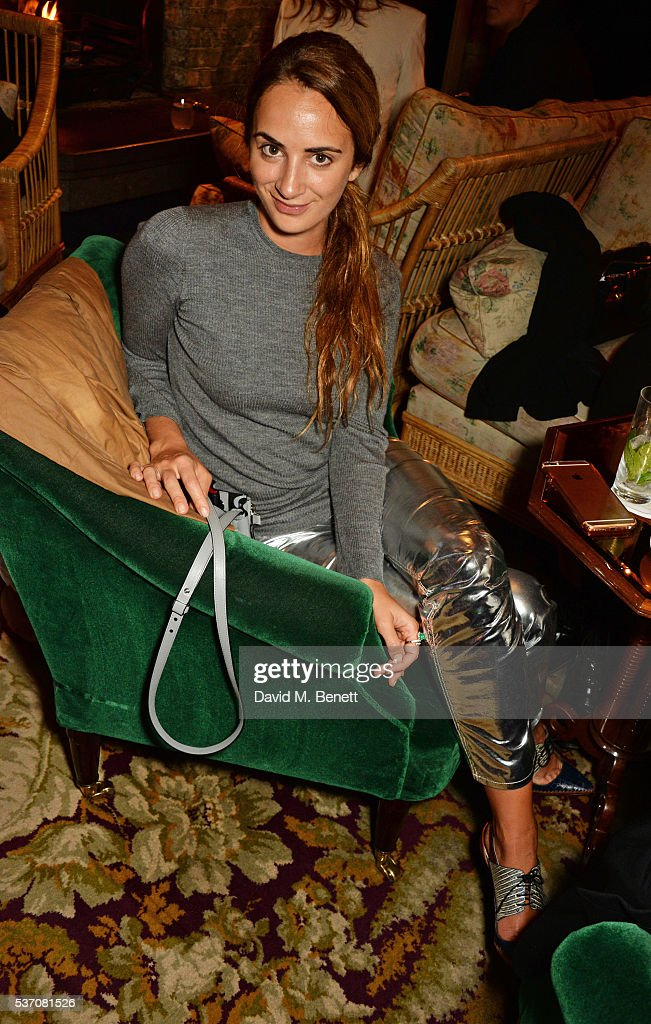 alexia niedzielski attends the launch of the kate moss for equipment