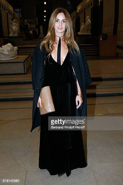 Alexia Niedzielski attends the Societe des Amis du Musee D'Orsay Dinner and Private tour of the Exhibition Le Douanier Rousseau L'innocence archaique...
