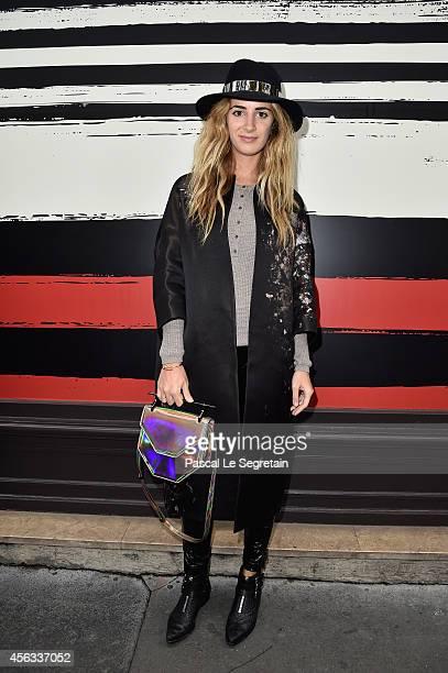 Alexia Niedzielski attends the Sonia Rykiel show as part of the Paris Fashion Week Womenswear Spring/Summer 2015 on September 29 2014 in Paris France