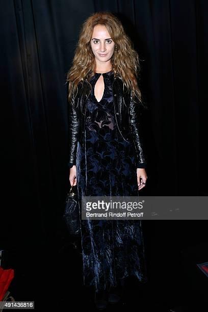 Alexia Niedzielski attends the Sonia Rykiel show as part of the Paris Fashion Week Womenswear Spring/Summer 2016 on October 5 2015 in Paris France