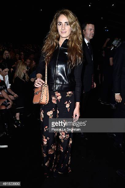 Alexia Niedzielski attends the Valentino show as part of the Paris Fashion Week Womenswear Spring/Summer 2016 on October 6 2015 in Paris France