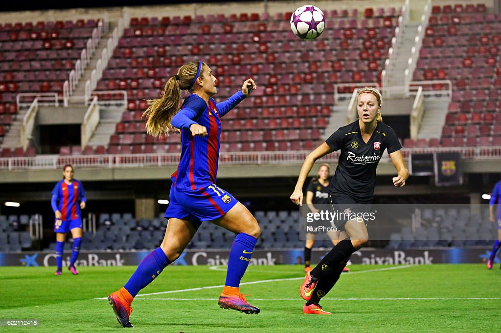 Zeer Barcelona v Twente - Womens Champions League Photos and Images  OQ-35