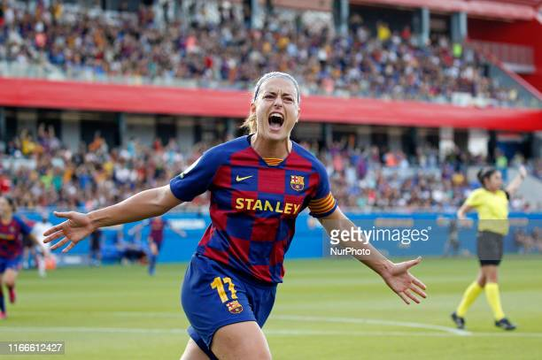 Alexia Putellas during the match between FC Barcelona and Club Deportivo Tacon, corresponding to the week 1 of the Liga Primera Iberdrola, played at...