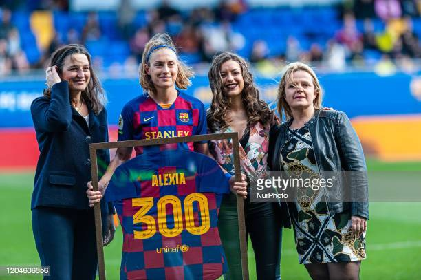 Alexia Putellas during the match between FC Barcelona and Madrid CFF corresponding to the week 21 of the Liga Iberdrola played at the Johan Cruyff...