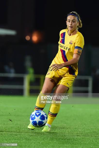 Alexia Putellas of FC Bacelona Woman in action during the Women's Champions League round of 32 match between Juventus and Barcelona at Stadio...