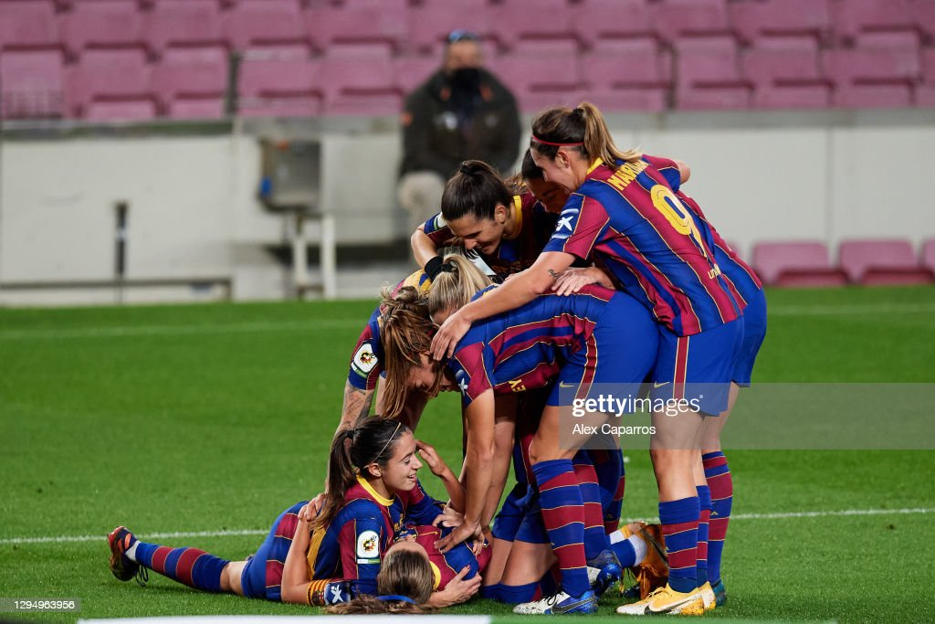 FC Barcelona v RCD Espanyol - Primera Iberdrola : News Photo