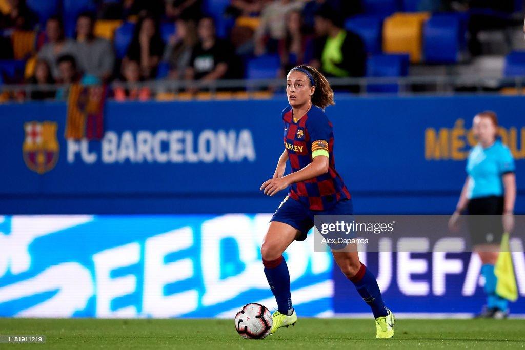 Barcelona v FC Minsk: UEFA Womens Champions League : News Photo