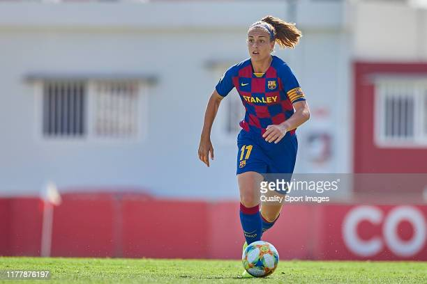 Alexia Putellas of FC Barcelona in action during the First Division Match between Sevilla FC and FC Barcelona at Estadio Jesus Navas on September 29...