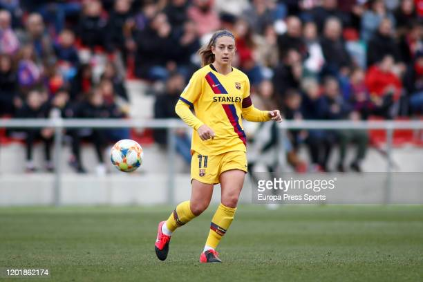 Alexia Putellas of FC Barcelona in action during the Spanish League, Primera Iberdrola, women football match played between Atletico de Madrid...