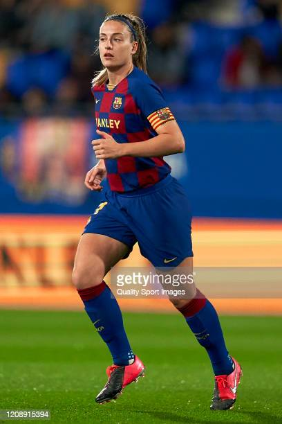 Alexia Putellas of FC Barcelona looks on during Copa de la Reina match between FC Barcelona and Deportivo de La Coruna at Estadi Johan Cruyff on...