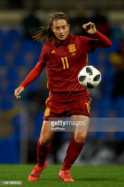 Alexia Putellas of Spain during the friendly match between Spain and USA at Rico Perez Stadium in Alicante Spain on January 22 2019