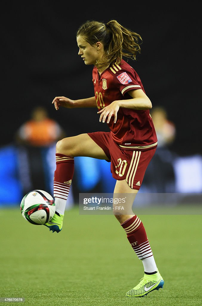 Alexia Putellas of Spain in action during the FIFA Women's World Cup 2015 group E match between Spain and Costa Rica at Olympic Stadium on June 9, 2015 in Montreal, Canada.