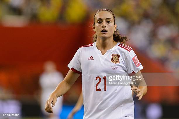 Alexia Putellas of Spain runs during the 2015 FIFA Women's World Cup Group E match against Brazil at Olympic Stadium on June 13 2015 in Montreal...