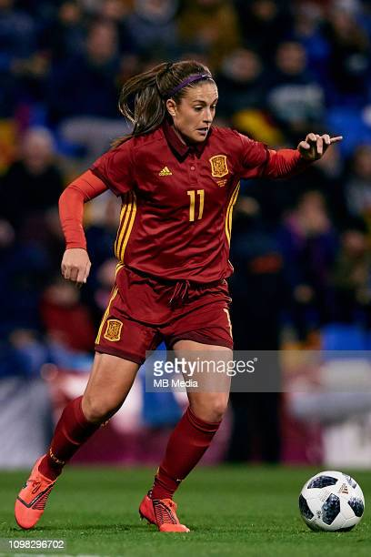 Alexia Putellas of Spain Women during the International Friendly game between Spain Women and The United States Women at Estadio Jose Rico Perez on...