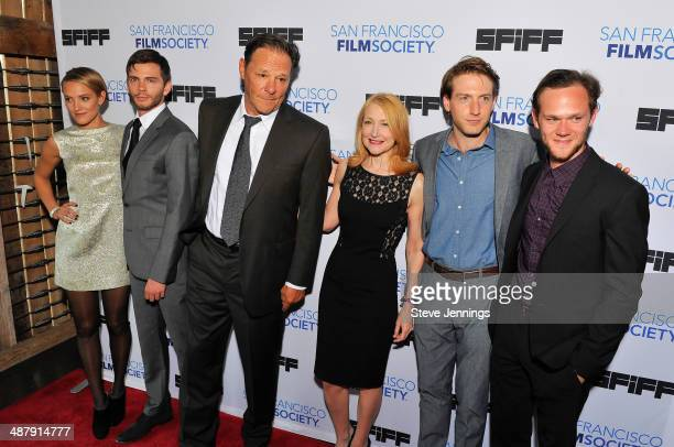 Alexia Rasmussen Devon Greye Chris Mulkey Patricia Clarkson Tom Dolby and Joseph Cross attend the world premiere of 'Last Weekend' at the 57th San...