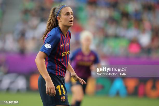 AlexiaPutellas of FC Barcelona during the UEFA Women's Champions League Final between Olympique Lyonnais v FC Barcelona Women at Groupama Arena on...