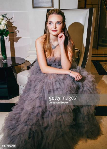 Alexina Fontes Williams is photographed for Vanity Fair Magazine on November 26 2016 at the Peninsula hotel in Paris France PUBLISHED IMAGE