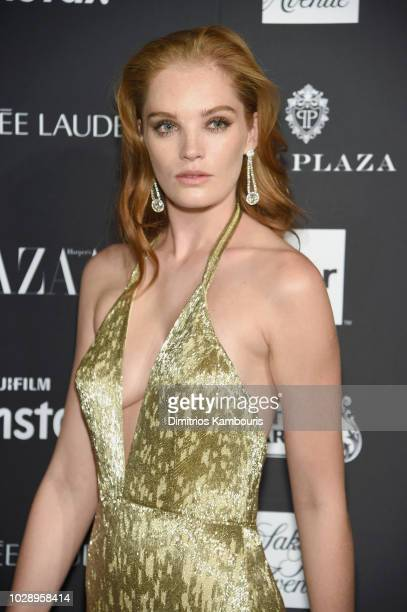 Alexina Graham attends as Harper's BAZAAR Celebrates 'ICONS By Carine Roitfeld' at the Plaza Hotel on September 7 2018 in New York City