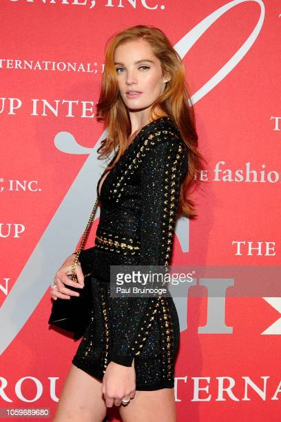 Alexina Graham attends Fashion Group International Night Of Stars 2018 at Cipriani Wall Street on October 25 2018 in New York City