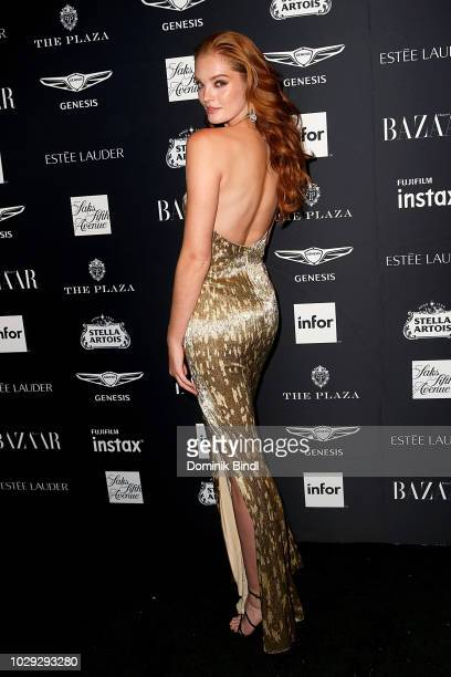 Alexina Graham attends Harper's BAZAAR Celebrates 'ICONS By Carine Roitfeld' at The Plaza Hotel on September 7 2018 in New York City