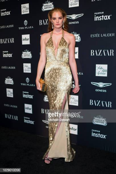 Alexina Graham attends Harper's BAZAAR ICONS at The Plaza Hotel on September 7 2018 in New York City
