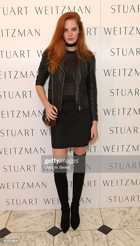 Alexina Graham attends Stuart Weitzman's private VIP dinner at Royal Academy of Arts to celebrate opening of it's London flagship boutique on November 14, 2016 in London, England.