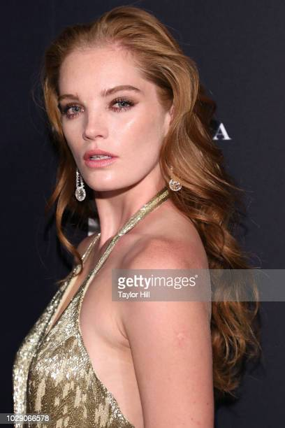 Alexina Graham attends the 2018 Harper's BAZAAR ICONS Party at The Plaza Hotel on September 7 2018 in New York City