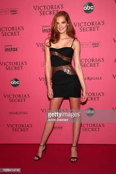 Alexina Graham attends the 2018 Victoria's Secret Fashion Show After Party on November 8 2018 in New York City