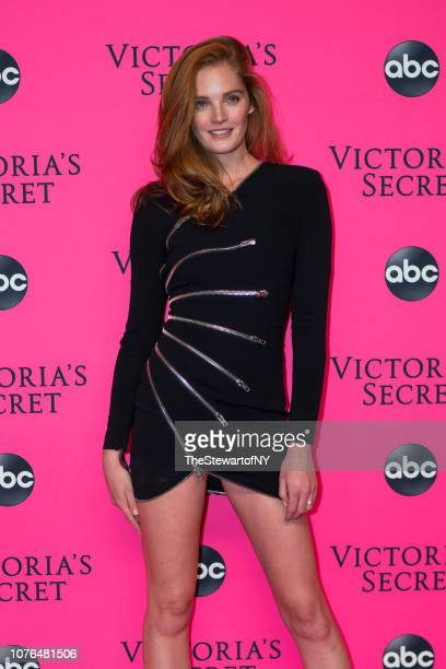 Alexina Graham attends the 2018 Victoria's Secret Fashion Show viewing party at Spring Studios on December 02 2018 in New York City