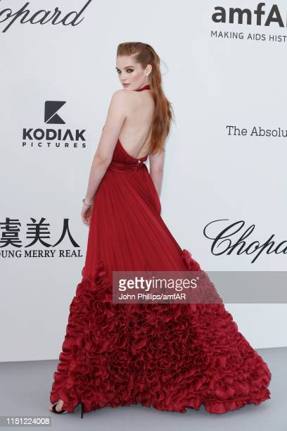 Alexina Graham attends the amfAR Cannes Gala 2019 at Hotel du CapEdenRoc on May 23 2019 in Cap d'Antibes France