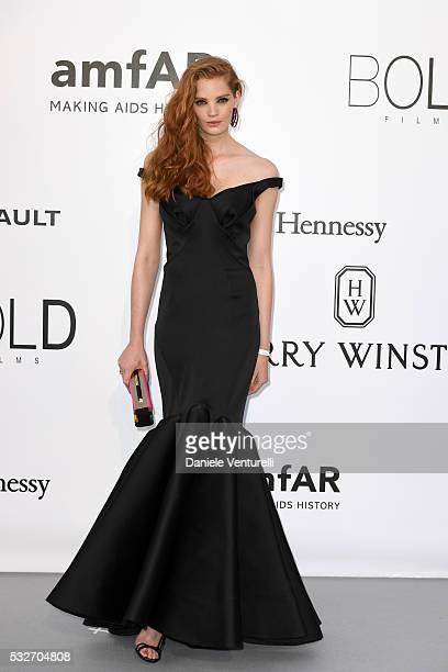 Alexina Graham attends the amfAR's 23rd Cinema Against AIDS Gala at Hotel du CapEdenRoc on May 19 2016 in Cap d'Antibes France