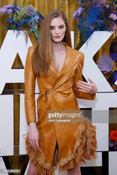 Alexina Graham attends the first anniversary celebration of L'Avenue at Saks on February 04 2020 in New York City