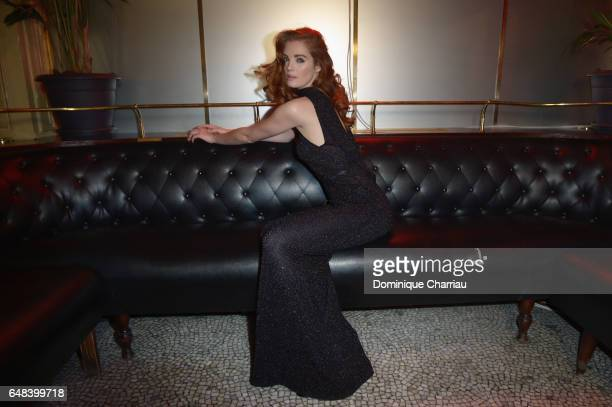 """Alexina Graham attends the """"L'Oreal Paris Dinner Hosted By Julianne Moore"""" as part of the Paris Fashion Week Womenswear Fall/Winter 2017/2018 on..."""