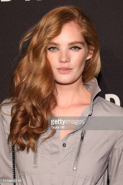 Alexina Graham attends the party celebrating the 30th anniversary of DKNY at St Ann's Warehouse on September 09 2019 in New York City