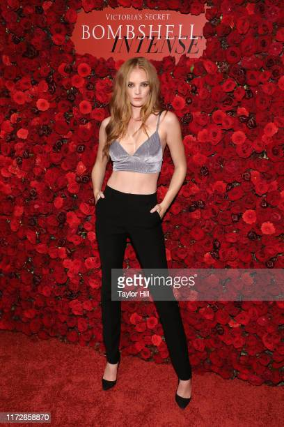 Alexina Graham attends the Victoria's Secret Fragrance Launch Party at The Times Square EDITION on September 05, 2019 in New York City.