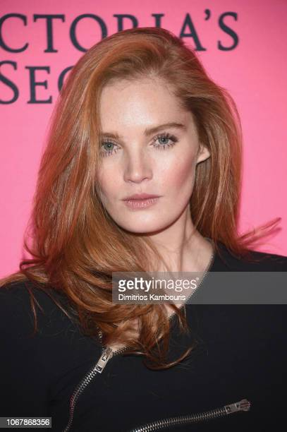 Alexina Graham attends the Victoria's Secret Viewing Party ar Spring Studios on December 2 2018 in New York City