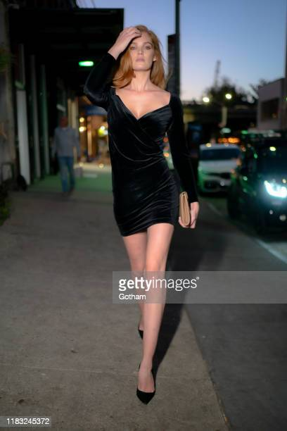 Alexina Graham is seen in the Meatpacking District on October 24 2019 in New York City